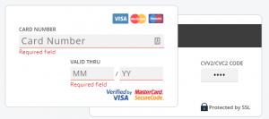 ハッシュフレアクレジットカード決済