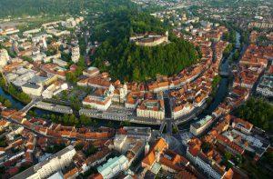スロベニアのリュブリャナ