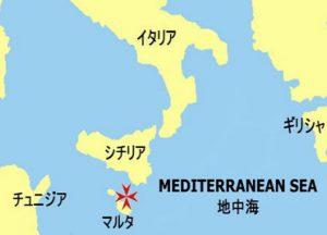 マルタ共和国 地図